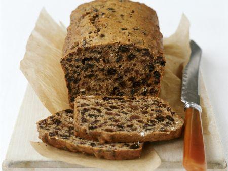 Walisischer Teekuchen mit Rosinen