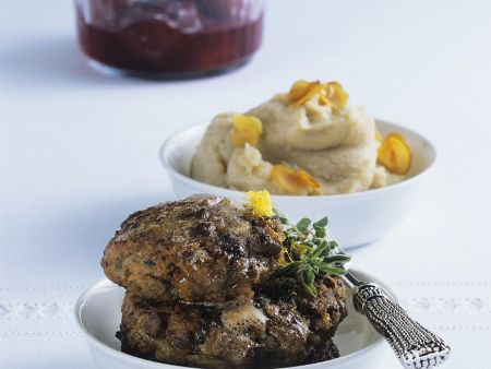 wilsfrikadellen mit kartoffel maronen p ree rezept eat smarter. Black Bedroom Furniture Sets. Home Design Ideas
