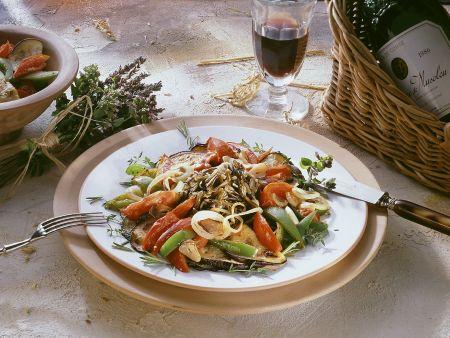Wildreis mit Gemüse
