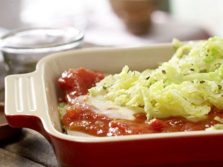 Wirsing-Lasagne: Zubereitungsschritt 12