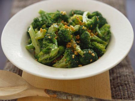 Wok-Brokkoli mit Knoblauch