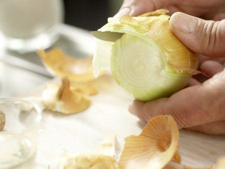 Würziger Spinat: Zubereitungsschritt 1
