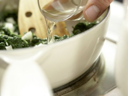 Würziger Spinat: Zubereitungsschritt 4