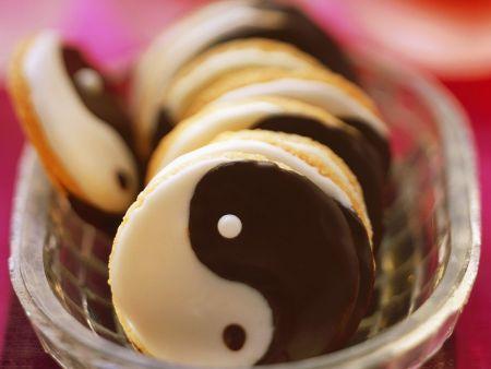 Yin-Yang-Kekse