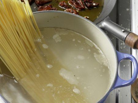 Ziegenkäse-Pasta: Zubereitungsschritt 4