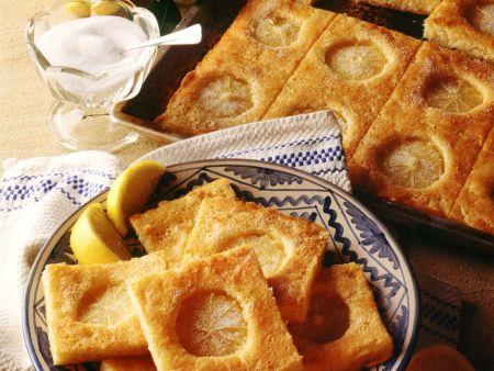 Zitronenkuchen mit Guss