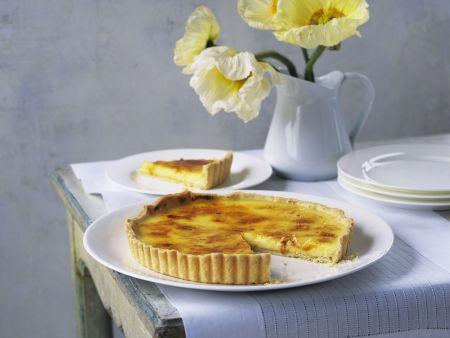 Zitronenkuchen mit Karamell