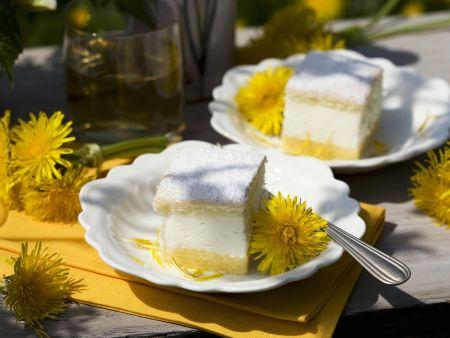 Zitronensahne-Schnittchen