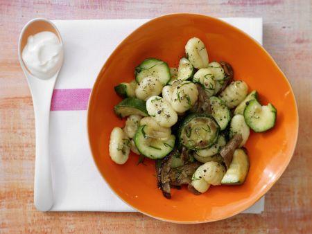 Zucchini-Pfanne