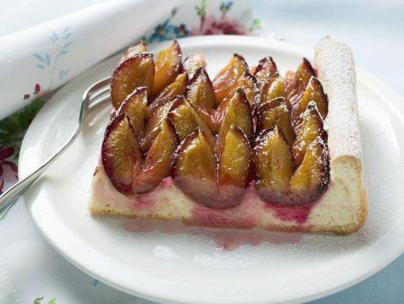 Zwetschgen-Blechkuchen