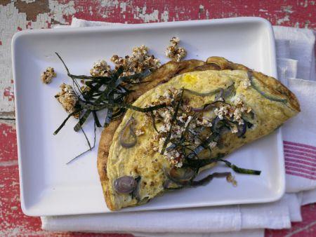 Zwiebel-Omelett