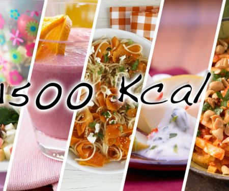 1500-Kalorien-Tag - schlankes Wintergemüse
