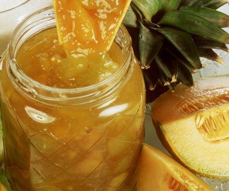 Ananaskonfitüre mit Melone