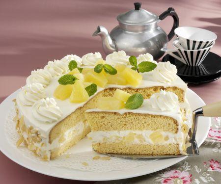 Ananas-Käsesahne-Torte