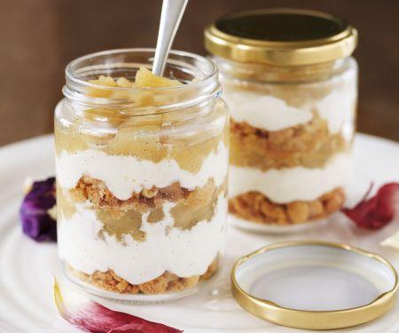 Apfel-Birnen-Trifle