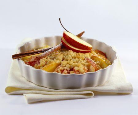 Apfel-Crumble