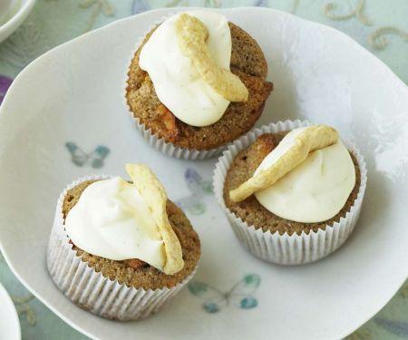 Apfel-Cupcakes mit Calavdos