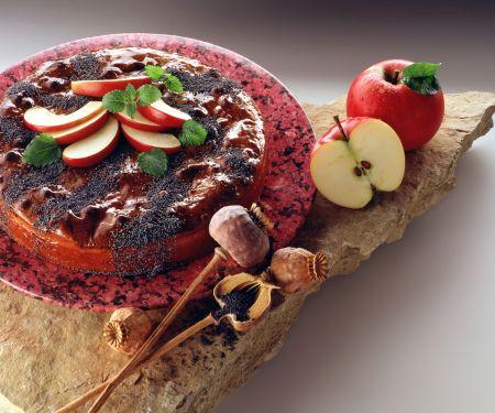 Apfel-Mohn-Kuchen