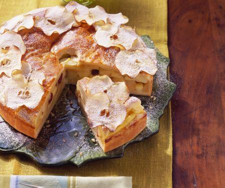 Apfel-Rosinen-Kuchen