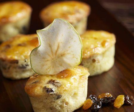 Apfel-Rosinen-Muffins