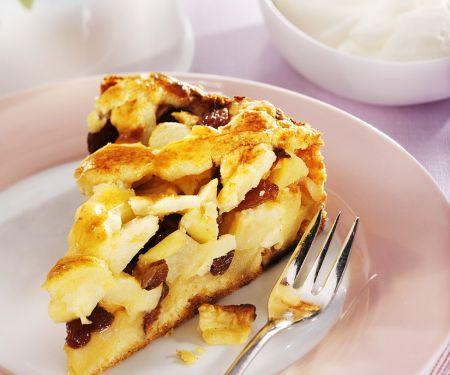 Apfel-Rosinenkuchen