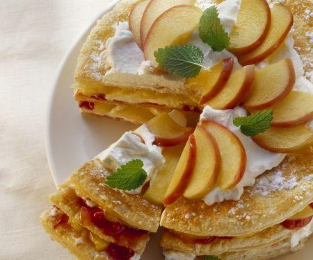 Apfel-Schicht-Torte