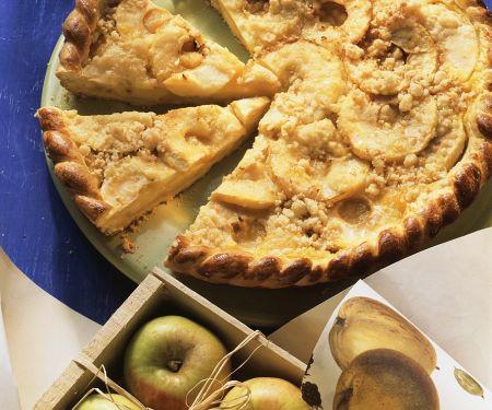 Apfel-Streusel-Pie