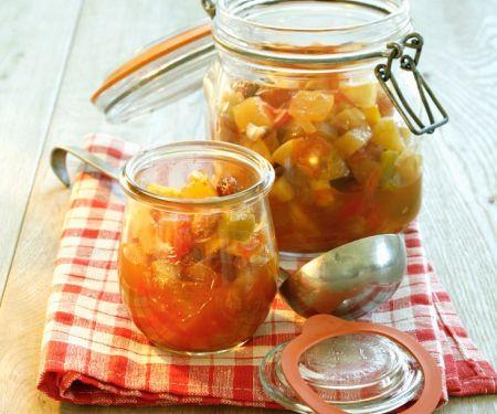 Apfelchutney mit Tomaten