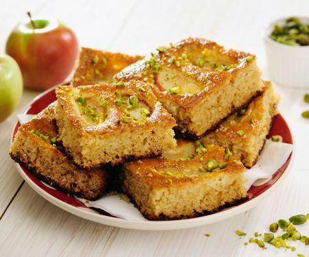 Apfelkuchen aus Vollkornteig