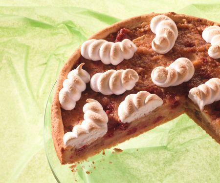 Apfelmus-Preiselbeer-Torte