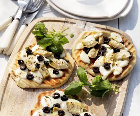 Artischocken-Pizzette