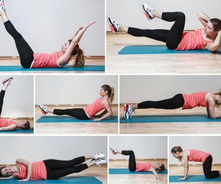 Acht Übungen für ein sexy Sixpack