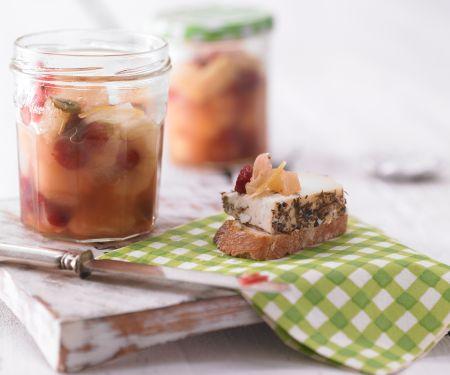 Birnen-Cranberry-Chutney