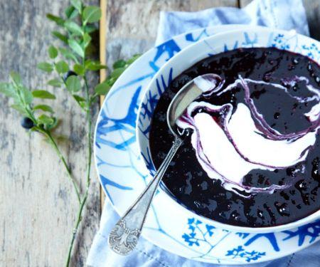 Blaubeersuppe aus Schweden