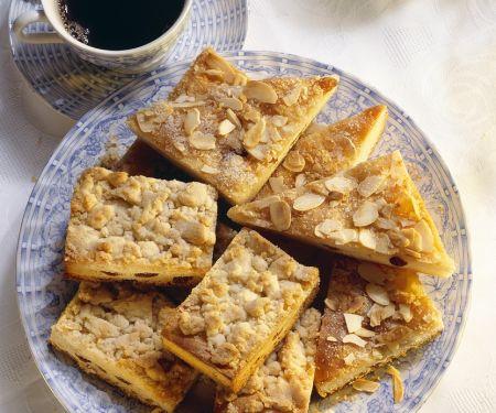 Blechkuchen mit Streuseln