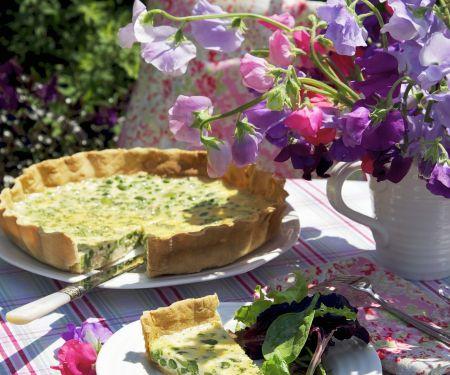 Bohnen-Erbsen-Tarte