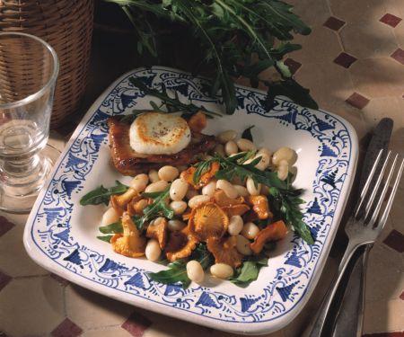 Bohnen-Pilz-Gemüse