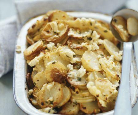Bratkartoffeln mit Feta