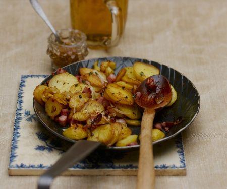 Bratkartoffeln mit Speck