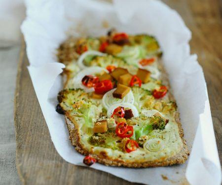 Brokkoli-Brotfladen
