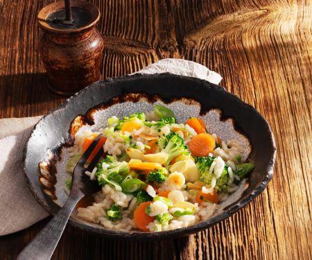 Brokkoli-Möhren-Reis