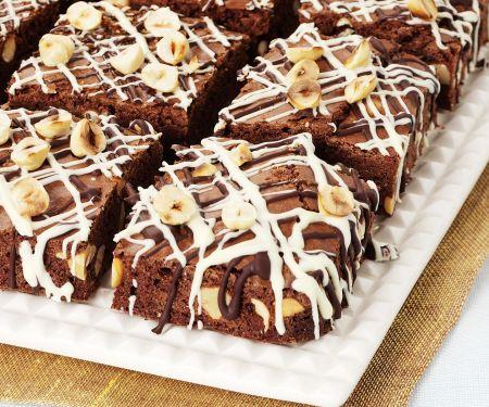 Brownies mit Haselnüssen