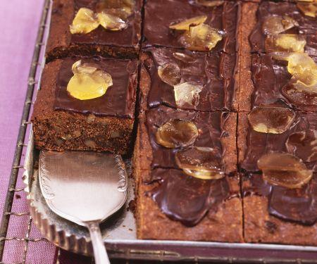 Brownies mit Ingwer