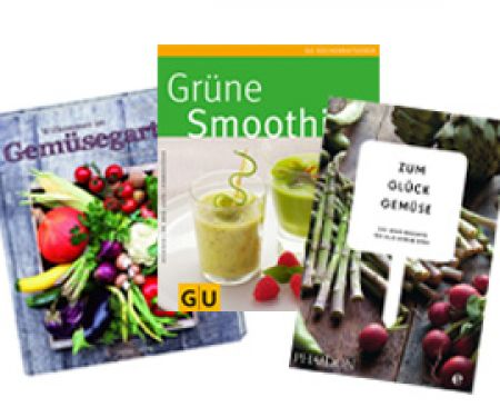 Tolle Bücher über Gemüse