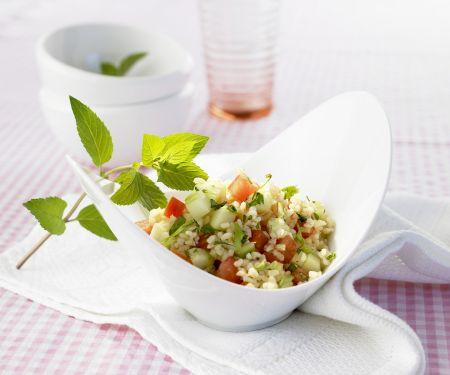 Bulgur-Gemüse-Salat