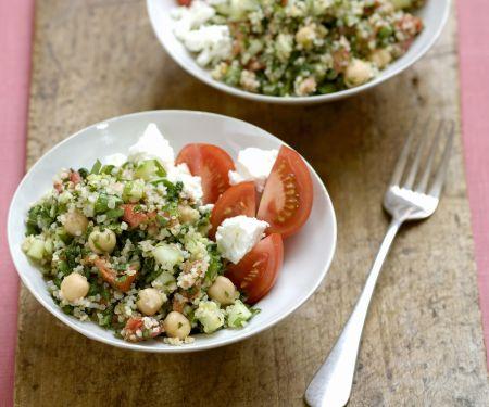 Bulgur-Tomaten-Salat mit Feta