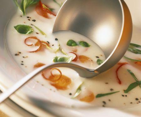 Buttermilch-Gemüsesuppe