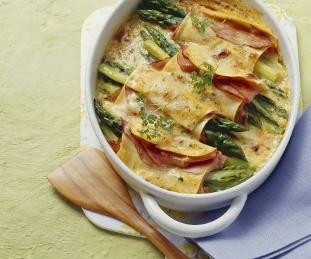 Cannelloni mit Spargel