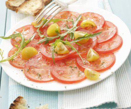 Carpaccio aus Tomaten