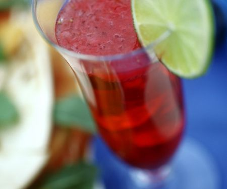 Cassis-Drink
